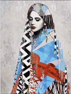HUSH LDF La Divinité Féminine New Print -no Banksy Shepard Fairey Invader Kaws