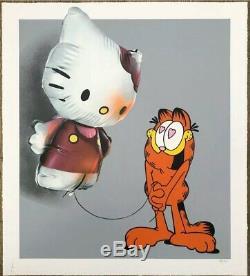 Hellooo Kitty By FANAKAPAN- Serigraphie signée et numérotée COA whatson