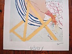 Henri De Toulouse Lautrec // Lithographie La Passagère Du 54-albi- 74x54 CM