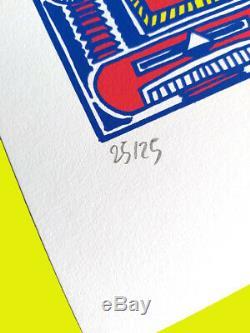 Hervé Di Rosa, Tirage original à 25 exemplaires au profit de la Salpêtrière
