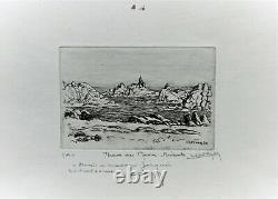 Ile de Bréhat, phare du Paon, Bretagne, Lucien Seevagen