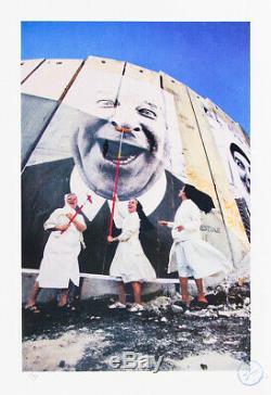 JR 28 MILLIMÈTRES, FACE 2 FACE SIGNED Not Banksy dran pejac obey jonone