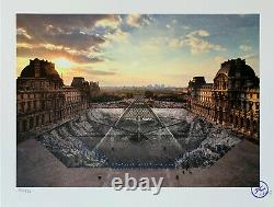 JR au Louvre 29 mars 18h08 / Signed and numbered Lithograph print Edition /250
