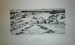 Jacquemin Gravure Signée numérotée Musée des Vosges Epinal Puy en Velay