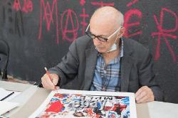 Jacques Villeglé, Print / Belleville affiche lacérée / Tirage