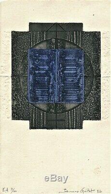James GUITET gravure originale eau forte signée numérotée