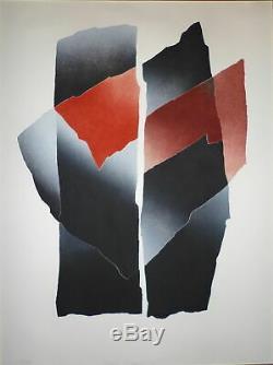 Jannin Oms Patrick gravure originale signée numérotée art abstrait abstraction