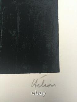 Jean Helion Portrait d'un homme au chapeau melon, 1960