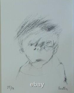 Jean Rustin Bramsen Auger Hachard Lithographie
