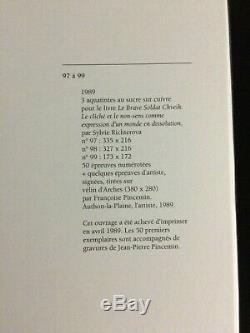 Jean-pierre Pincemin Aquatinte Au Sucre / Eau-forte. N°/50 Signée. Chveik