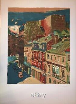 Jik Soon Yim Lithographie originale signée numérotée Korean artist Paris