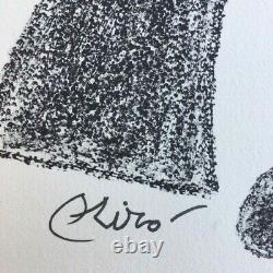 Joan Miro, Lithographie originale, signée