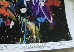 JonOne- My World Serigraphie Numérotée Signée Édition Limitée Obey Whatson
