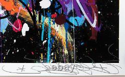 JonOne My World Signed, Numbered /407 Art print with COA