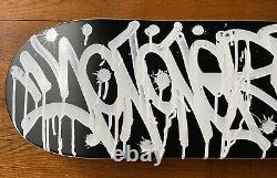 JonOne Skateboard Oeuvre originale signée numérotée certificat Street Art