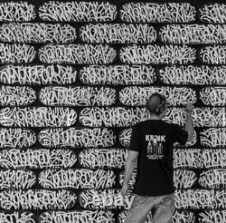 JonOne Skateboard Oeuvre originale unique signée numérotée Street Art