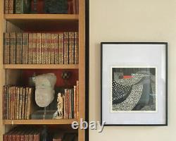 Joseph KADAR, 1936, Hongrie. Hommage à Le Corbusier. 1988. Sérigraphie signée. 25x25