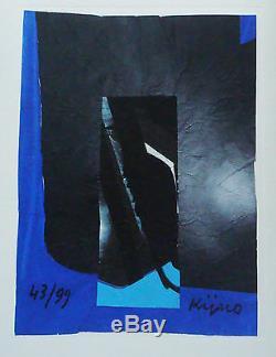 KIJNO Ladislas Livre objet plexi 5 gravures carborundum signées et numérotées
