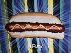Kenny Scharf The Hot dog 2011 signed and dated 11/100 2011