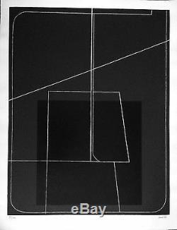 Konok Thomas Lithographie signée numérotée Hommage à Ady Paris Budapest 1977