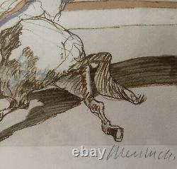 LÉcuyer Claude Weisbuch Lithographie signée numérotée