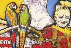 LIOT Eric Sérigraphie en relief signée et numérotée avec collage