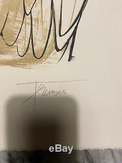 LITHOGRAPHIE PIERRE YVES TREMOIS signée, contre signée et numérotée Ea