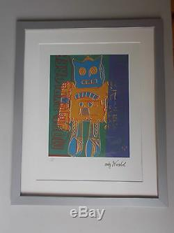 Lithographie, Andy Warhol, Moon Explorer 2 , Tirage 5.000 Ex