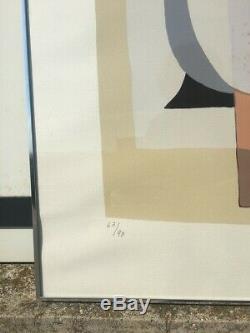 Lithographie Charles Monnier, signée 66 cm x 50,5 cm