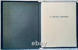 Louis-René des Forêts Pierre Klossowski 7 lithographies tirage à 20 exemplaire