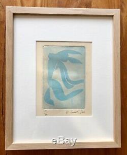 MATISSE lithographie originale signée et numérotée