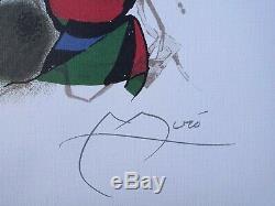 MIRO Joan Original Lithograph II LITHOGRAPHIE numérotée et signée, 500ex