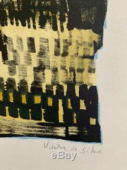 Maria Elena VIEIRA DA SILVA / Hand signed and numbered Silkscreen print
