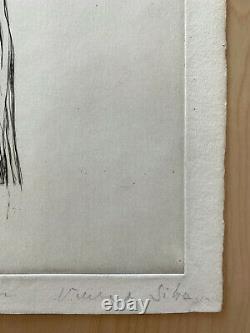Maria Helena VIEIRA DA SILVA / Hand signed Etching print