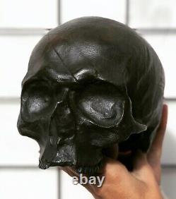 Marquis de SADE. Bronze original du crâne du Marquis de Sade. Numéroté et signé