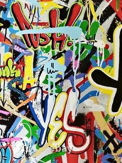 Martin Whatson beyond the wall signé numéroté /250 no Banksy Obey Findac