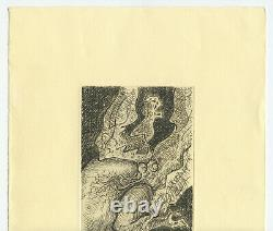Masson Andre Gravure Signee Crayon Num/90 Handsigned Numb/90 Etching Surrealisme