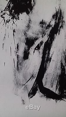 Michel Warren Lithographie Originale Signée Numérotée de 1974 cf Francis Bacon
