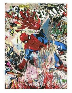 Mr Brainwash Spiderman Ltd Ed of 55 S/N