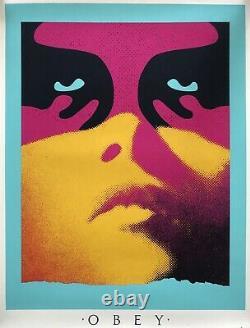 OBEY Lithographie Shadowplay Signée Numérotée Street Art Shepard Fairey