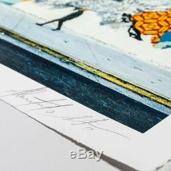 OBEY Vhils 2019 litho signée num whatson invader kaws jonone SEEN