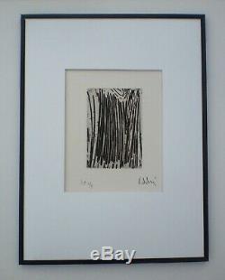OLIVIER DEBRÉ. Eau-forte originale, numérotée et signée. E. A 1/3 exemplaires (1)