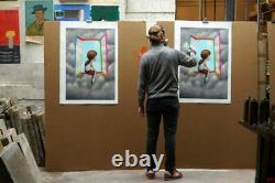 ORIGINAL SETH At the Window Ed Limit 150 ex with COA Sold Out Certificat fourni