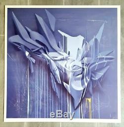 PEETA Tight Hold impression sur aluminium sign-num/20 63x63cm tilt/daim