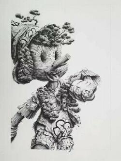 PEZ LIES PIERRE-YVES RIVEAU Artwork Print Street Art Ed. 51 Sold Out
