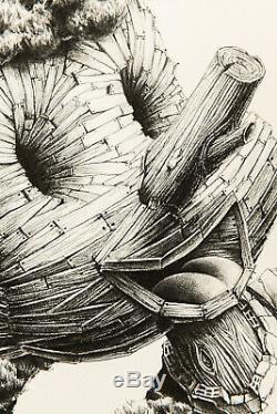 PEZ (Pierre-Yves Riveau)Lies Print Sérigraphie signée et numérotée Ed. 51 Rare