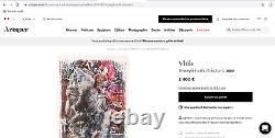 PICHIAVO et VHILS Triumph (Obey, Banksy, c215, invader, artsper) Lithographie