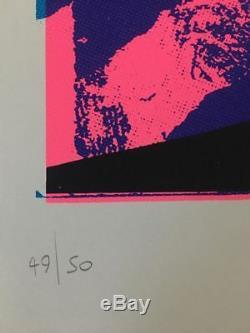 PURE EVIL Saint-Samo sérigraphie sign-num/50 dface/hush/dolk/imbue/whatson