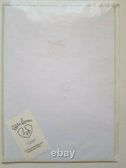Petites Luxures Linogravure signed & numeroted
