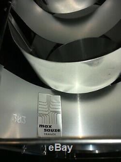 Rare paire d' appliques Max Sauzé vintage design signées numérotées lampe
